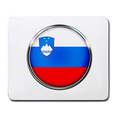 Slovenia Flag Mountains Country Large Mousepads