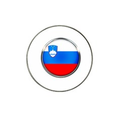 Slovenia Flag Mountains Country Hat Clip Ball Marker