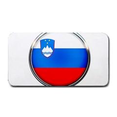 Slovenia Flag Mountains Country Medium Bar Mats