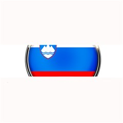 Slovenia Flag Mountains Country Large Bar Mats