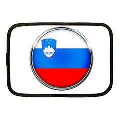 Slovenia Flag Mountains Country Netbook Case (medium)
