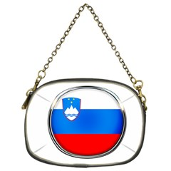 Slovenia Flag Mountains Country Chain Purses (one Side)