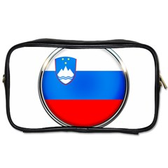 Slovenia Flag Mountains Country Toiletries Bags