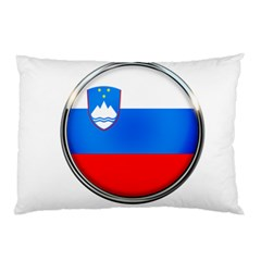 Slovenia Flag Mountains Country Pillow Case (two Sides)