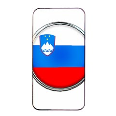 Slovenia Flag Mountains Country Apple Iphone 4/4s Seamless Case (black) by Nexatart