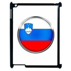 Slovenia Flag Mountains Country Apple Ipad 2 Case (black)