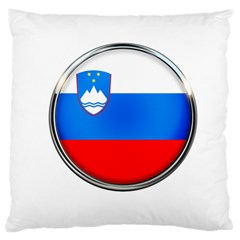 Slovenia Flag Mountains Country Large Cushion Case (two Sides)