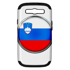 Slovenia Flag Mountains Country Samsung Galaxy S Iii Hardshell Case (pc+silicone)