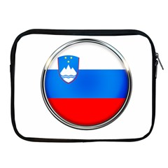 Slovenia Flag Mountains Country Apple Ipad 2/3/4 Zipper Cases