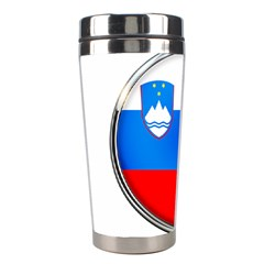 Slovenia Flag Mountains Country Stainless Steel Travel Tumblers