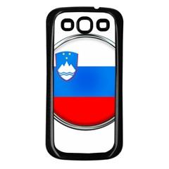 Slovenia Flag Mountains Country Samsung Galaxy S3 Back Case (black)