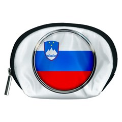 Slovenia Flag Mountains Country Accessory Pouches (medium)
