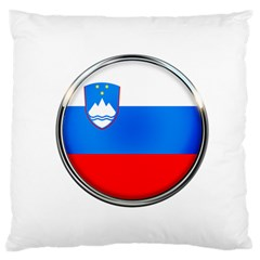 Slovenia Flag Mountains Country Standard Flano Cushion Case (two Sides)