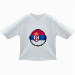 Serbia Flag Icon Europe National Infant/toddler T Shirts
