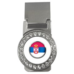 Serbia Flag Icon Europe National Money Clips (cz)