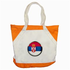 Serbia Flag Icon Europe National Accent Tote Bag