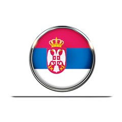 Serbia Flag Icon Europe National Plate Mats