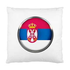 Serbia Flag Icon Europe National Standard Cushion Case (two Sides)