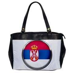 Serbia Flag Icon Europe National Office Handbags by Nexatart