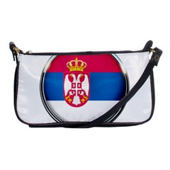 Serbia Flag Icon Europe National Shoulder Clutch Bags
