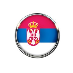 Serbia Flag Icon Europe National 5 5  X 8 5  Notebooks