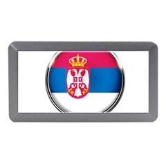 Serbia Flag Icon Europe National Memory Card Reader (mini)