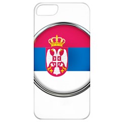 Serbia Flag Icon Europe National Apple Iphone 5 Classic Hardshell Case