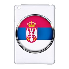 Serbia Flag Icon Europe National Apple Ipad Mini Hardshell Case (compatible With Smart Cover)