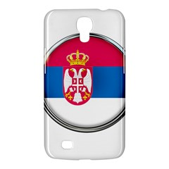 Serbia Flag Icon Europe National Samsung Galaxy Mega 6 3  I9200 Hardshell Case