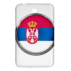 Serbia Flag Icon Europe National Samsung Galaxy Tab 3 (7 ) P3200 Hardshell Case
