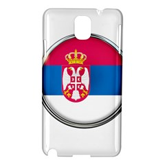 Serbia Flag Icon Europe National Samsung Galaxy Note 3 N9005 Hardshell Case