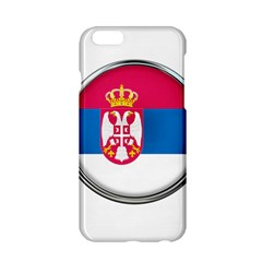 Serbia Flag Icon Europe National Apple Iphone 6/6s Hardshell Case