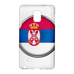 Serbia Flag Icon Europe National Galaxy Note Edge