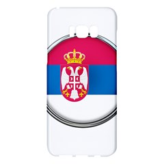 Serbia Flag Icon Europe National Samsung Galaxy S8 Plus Hardshell Case