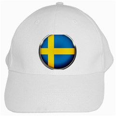 Sweden Flag Country Countries White Cap