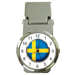 Sweden Flag Country Countries Money Clip Watches