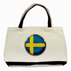 Sweden Flag Country Countries Basic Tote Bag