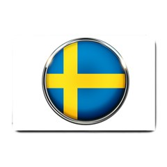 Sweden Flag Country Countries Small Doormat