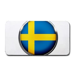 Sweden Flag Country Countries Medium Bar Mats