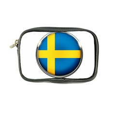 Sweden Flag Country Countries Coin Purse