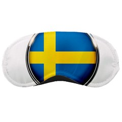 Sweden Flag Country Countries Sleeping Masks
