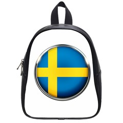Sweden Flag Country Countries School Bag (small)