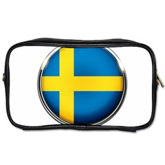 Sweden Flag Country Countries Toiletries Bags 2 Side