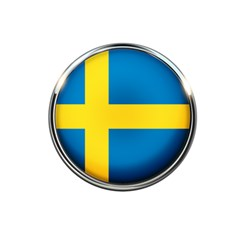 Sweden Flag Country Countries 5 5  X 8 5  Notebooks by Nexatart