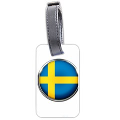 Sweden Flag Country Countries Luggage Tags (one Side)