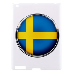 Sweden Flag Country Countries Apple Ipad 3/4 Hardshell Case