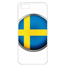 Sweden Flag Country Countries Apple Iphone 5 Seamless Case (white)