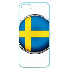 Sweden Flag Country Countries Apple Seamless Iphone 5 Case (color)