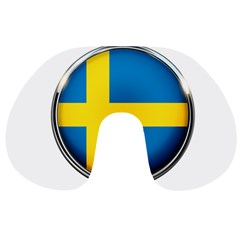 Sweden Flag Country Countries Travel Neck Pillows