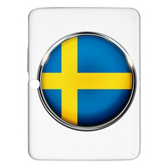 Sweden Flag Country Countries Samsung Galaxy Tab 3 (10 1 ) P5200 Hardshell Case